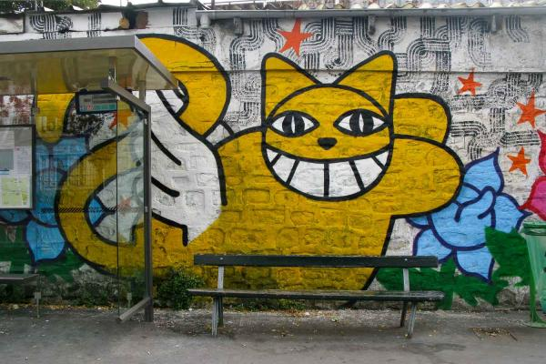 sarah, guilbaud, nantes, streetart, graffiti, Monsieurchat